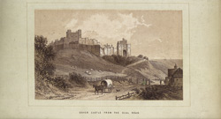 Dover Castle From The Deal Road